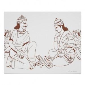 yudhishthira_and_duryodhana