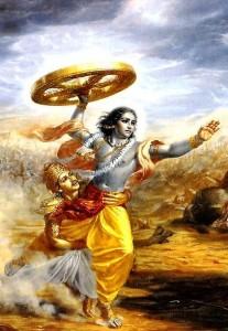 Krishna running