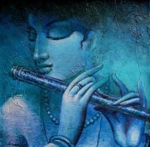 Krishna flute