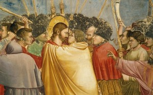 BFKDEE The Kiss of Judas, detail