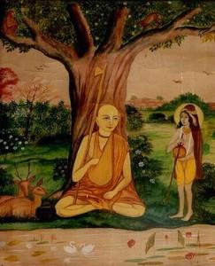 Madhavendra Puri and Krishna