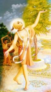 Mahaprabhu dancing