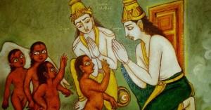 Sanakadi curse Jaya Vijaya