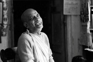 Prabhupad in laugh