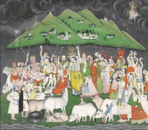 2011_NYR_02425_0452_000(a_painting_of_krishna_lifting_mount_govardhan_north_india_pahari_regio)