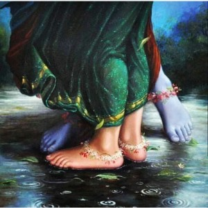 Their lotus feet