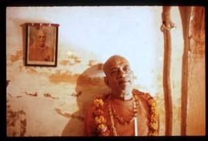 Prabhupad in Radha-Damodar Temple