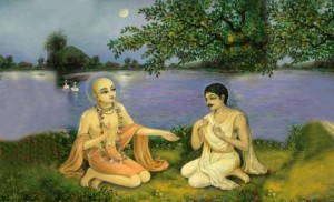 Discussion-between-Sri-chaitanya-mahaprabhu-and-ramananda-raya-660x400